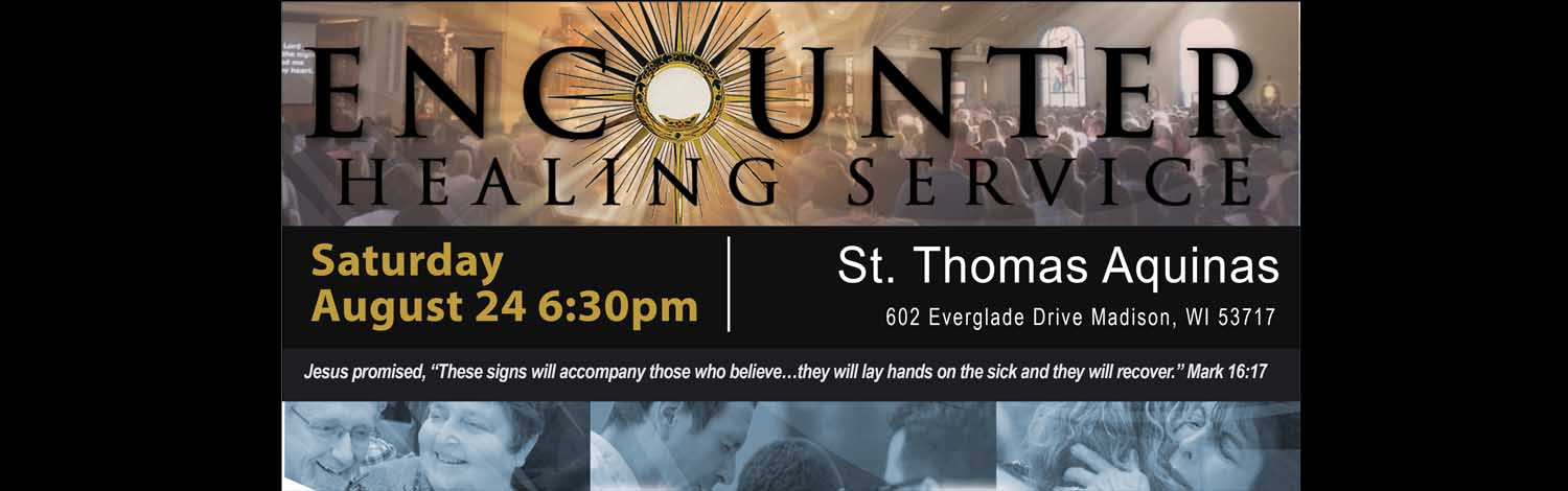 You are invited to a healing service Saturday, August 24, 6:30-9:30 pm.