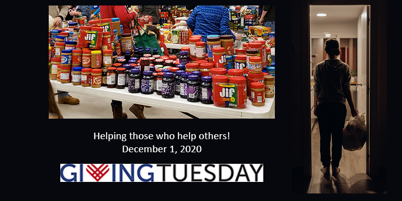 Giving Tuesday, December 1, means Helping Those Who Help Others